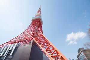 東京タワーも2階席からだと親近感を感じます。