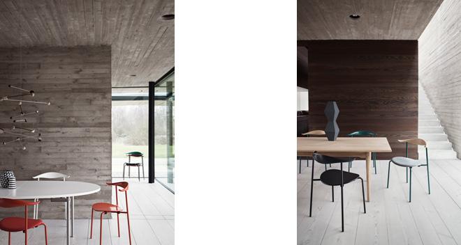 木材への深い造詣を基本とした斬新な家具デザインでよく知られているハンスJ.ウェグナー。追求してきたのは材質やフォルムばかりではなく、色使いにも稀有な才能を発揮した。