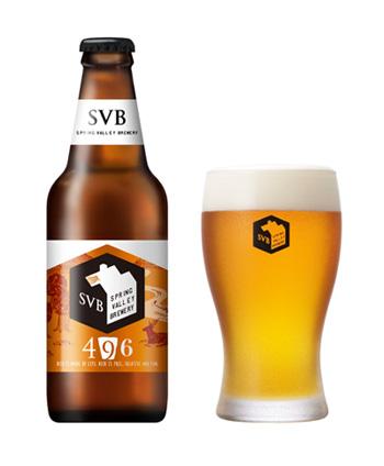 スプリングバレーブルワリーのスタンダードビール 「496」は、豊潤さとキレのよさのバランスが秀逸。