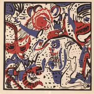ワシリー・カンディンスキー 散文詩画集『響き』より 《大いなる復活》 1911年 富山県立近代美術館蔵