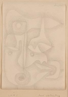 パウル・クレー 《名誉毀損》 1934年 富山県立近代美術館蔵