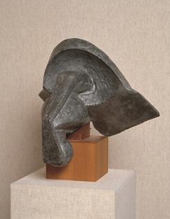 レイモン・デュシャン=ヴィヨン 《馬の頭》 1914年 富山県立近代美術館蔵