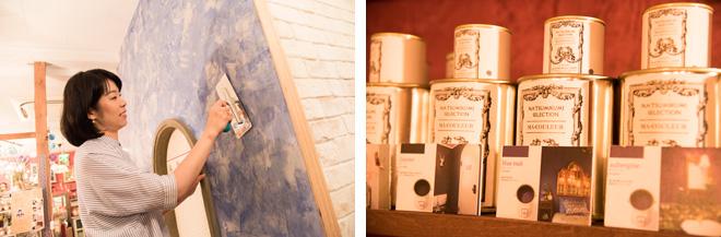 「最近はご自身で壁の塗り替えや張り替えをする方も増えています」と坂田さん。