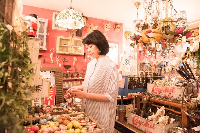 「ゴングリでは気軽にお部屋のイメージを変えられるインテリア小物が人気です」と坂田さん。