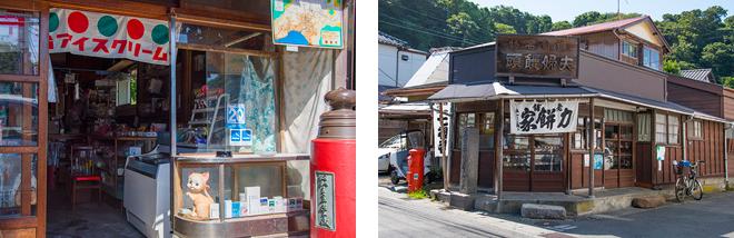 江の電の極楽寺駅周辺は、昭和の風情を残したまま。「力餅家」は300年の歴史がある老舗。極楽寺駅も関東の駅百選にも選ばれています。