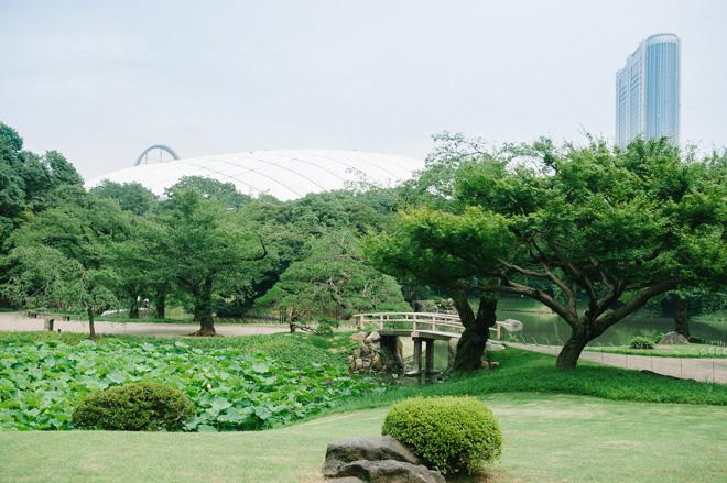 東京ドームシティすぐ横にひっそりと佇む小石川後楽園