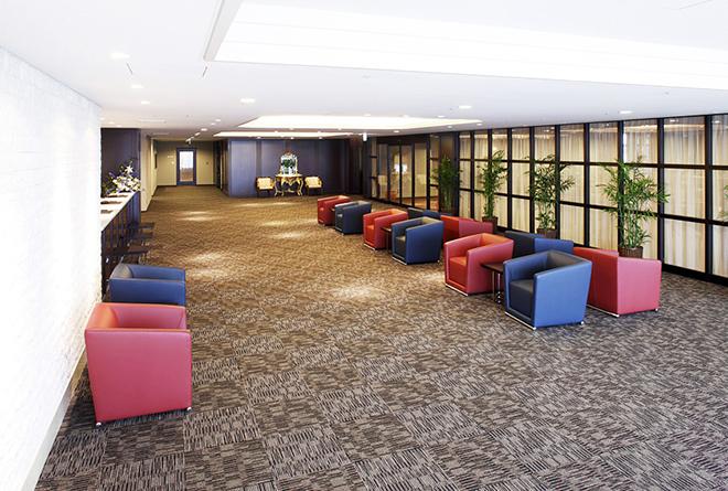 病院でありながらゆったりとくつろげる空間の「黒沢病院付属ヘルスパーククリニック」。
