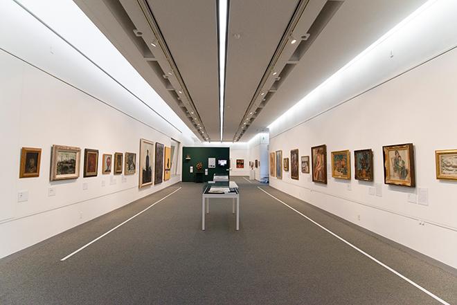 最後の展覧会となる「鎌倉からはじまった。1951-2016」を3期に分けて、1月31日まで開催されている。