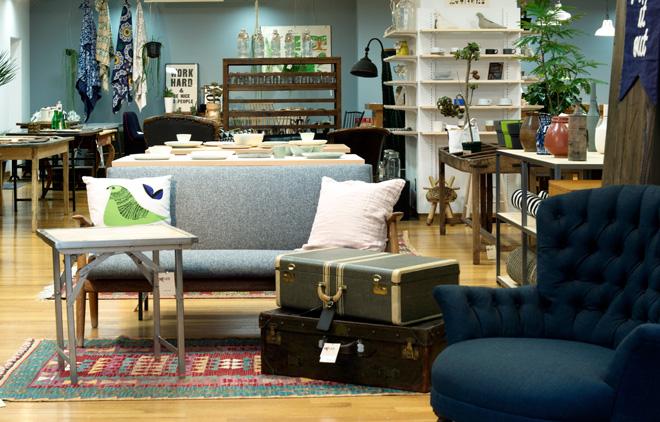 世界中から集めたこだわりのインテリア家具が魅力のTITLES(タイトルズ)。
