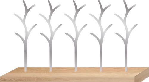 「TREE PICKS」(ツリーピック)5本セット(台座別売り) 素材:ステンレス 価格:2800円(税抜き)予価  *2月末頃に発売予定
