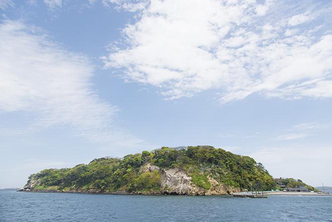 東京湾にぽっかりと浮かぶ無人島、猿島