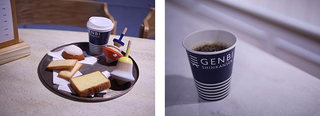 カフェでは「romi-unie」のいがらしろみが監修した、新潟の素材を使ったスイーツが楽しめる。燕三条で人気の「ツバメコーヒー」監修のコーヒーもおすすめ。