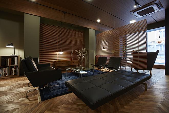 銀座にオープンしたデンマーク高級家具を中心としたインテリアショップ「ダンスク ムーベル ギャラリー」。