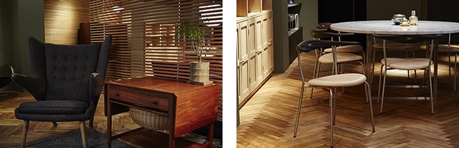 飽きのこないデザインは一生ものの家具として、ライフスタイルに長く寄り添ってくれるはずだ。