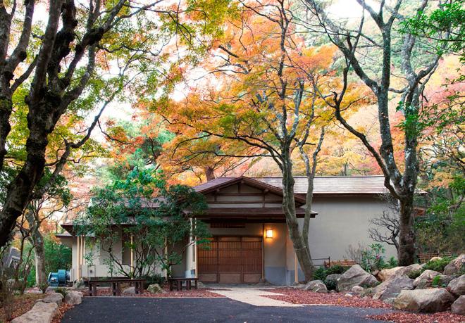 昭和初期の日本家屋を改装したカフェ「開化亭」。