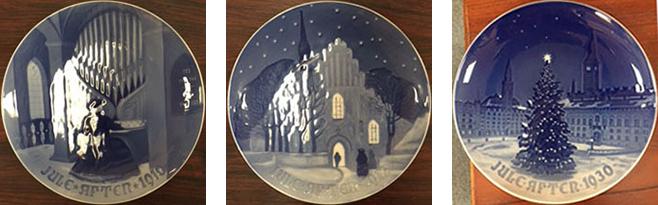 ビング オー グレンダールクリスマスプレート 元祖クリスマスプレートを製作した、ビングオーグレンダールのプレート。世界の陶磁器愛好家たちに愛される名品。 サイズ:φ18cm 参考価格:7000 円~40,000円(税別)