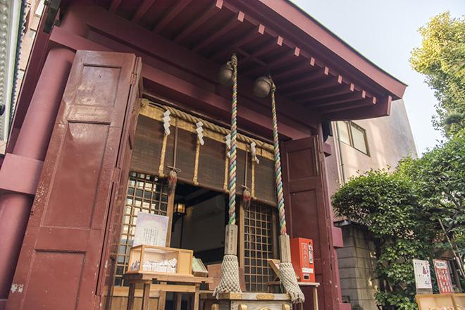寿老神(長寿)がまつられている笠間稲荷神社。