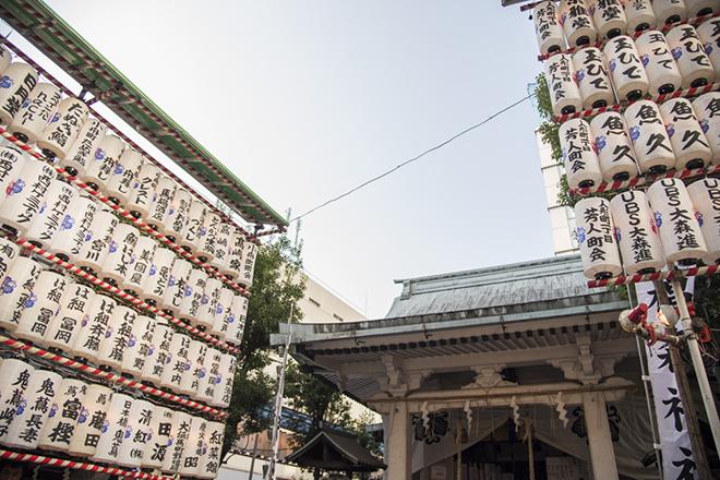 商売繁盛の恵比寿様を祀る椙森神社。