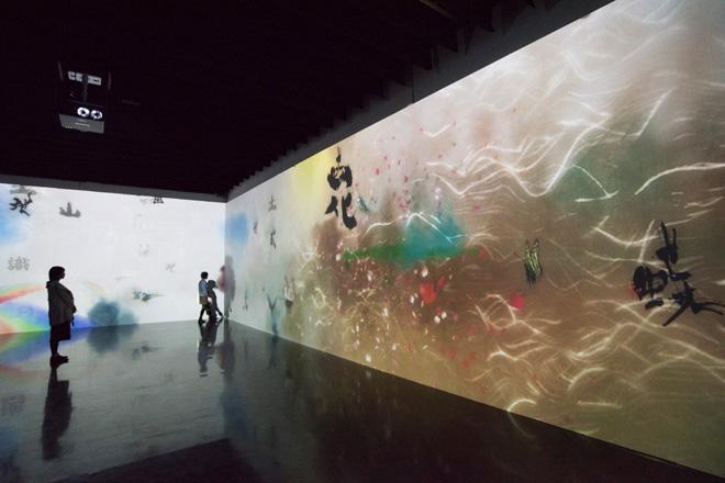 「世界はこんなにもやさしく、うつくしい」チームラボ 和の美学をテーマにしたデジタルアートの世界。