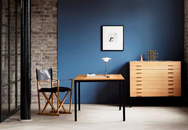 デンマーク王立芸術アカデミーのために、ポール・ケアホルムがデザインした名作「PK52」。