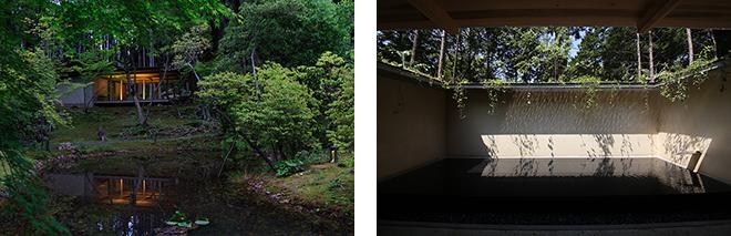 「竹林寺納骨堂」(高知県、2013年) (左)©Ken'ichi Suzuki (右) ©堀部安嗣
