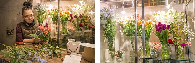 オーナーの川本氏は、フランスの花コンクールの日本代表になったほどの国際派フラワーデザイナー。