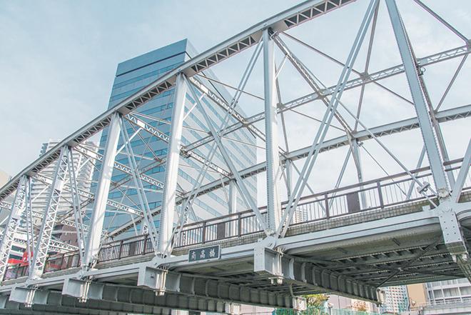 ドラマのロケ地としても人気の南高橋(みなみたかばし)。