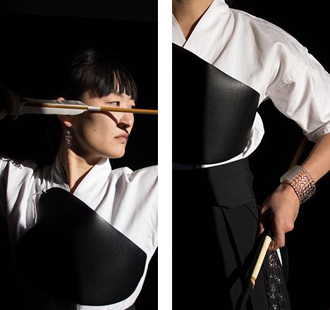 「アスリート・デザイナー:スポーツと武芸道」岡本菜穂(SIRI SIRI) 様々な分野のアーティストやデザイナーが、自らの手法でアスリート性を具現化する。