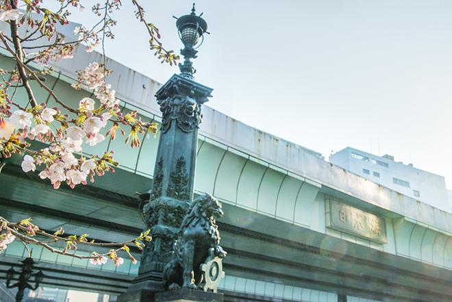 橋(はし=8×4)32頭の獅子が、日本橋には隠れているそう。