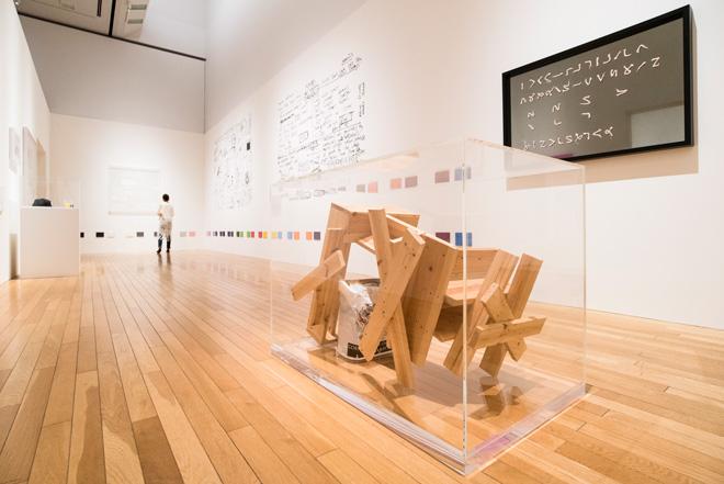 ライアン・ガンダーの作品群を展示した「Room 17」。ライアン・ガンダーは片山氏にとって、本格的にアートを集めるキッカケになったアーティストだという