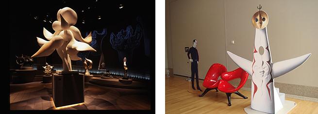 さまざまな岡本太郎芸術に出会える川崎市岡本太郎美術館。