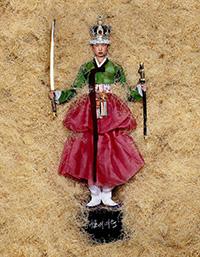 ジャン=ポール・グード「The queen of Seoul」パリ、2005年