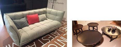 ウルキオラデザインのHUSKシリーズから、トレンドカラーのソファと新作テーブル
