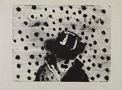 デヴィッド・リンチ「Man in the Rain」 2008年。 (C)2014 Collection Fondation Cartier pour l'art contemporain SNC.<br /> All Rights Reserved