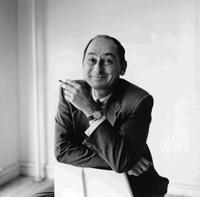 ジョージ・ネルソン(1908-1986) 1965 年頃 Photo: Vitra Design Museum Archiv