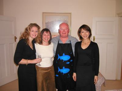 シドニーの料理教室で知り合った友人たち。ここでの経験が料理家としてのベースを作った。