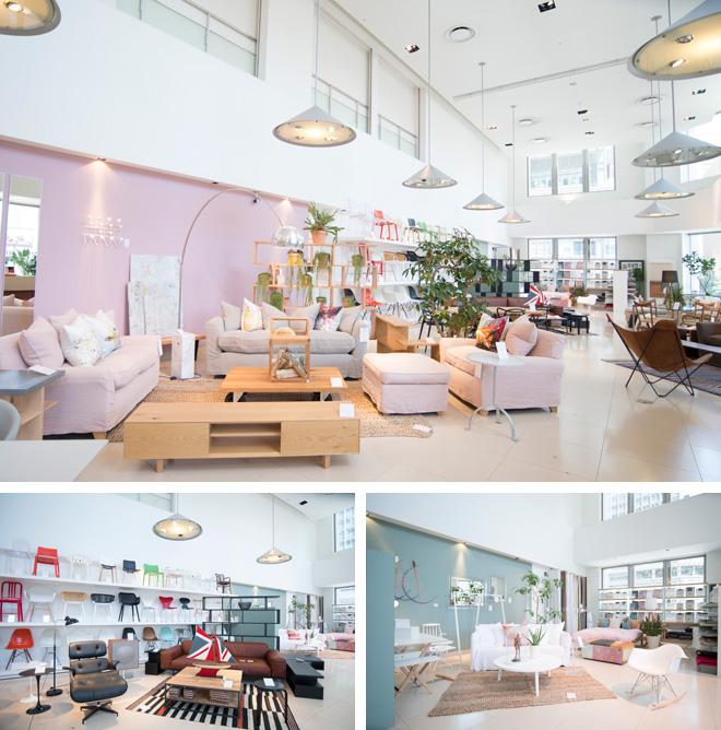 丸ビルの2Fと3Fでショップ展開をしている、ザ・コンランショップ 丸の内店。世界中から厳選されたインテリアアイテムは見応えがある(3F)。