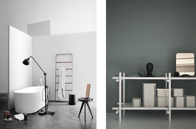 「グライディ・ミー・ミラー」。北欧らしいナチュラルさを持ちながら、現代の空間に合ったデザイン。バスルームやベッドルームはもちろん玄関やリビングに置くのもおすすめ。