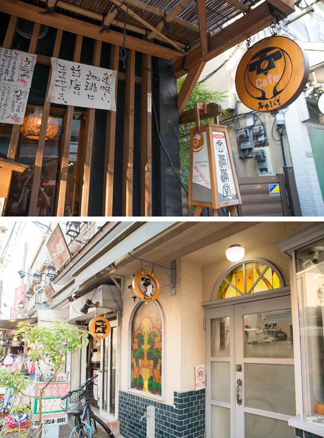 街を歩くと、どの店も看板がとてもかわいいです。