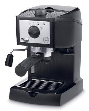 デロンギ コンビコーヒーメーカー 本格エスプレッソ、 カプチーノ、 ドリップコーヒーを 1台で楽しめる。