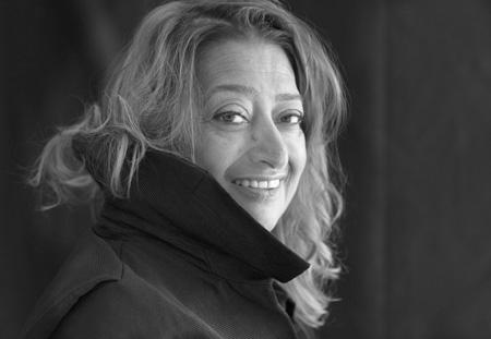 ザハ・ハディド photo: Brigitte Lacombe (C) Zaha Hadid Architects